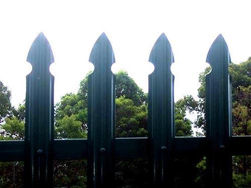 Gothic Style Palisade Fencing
